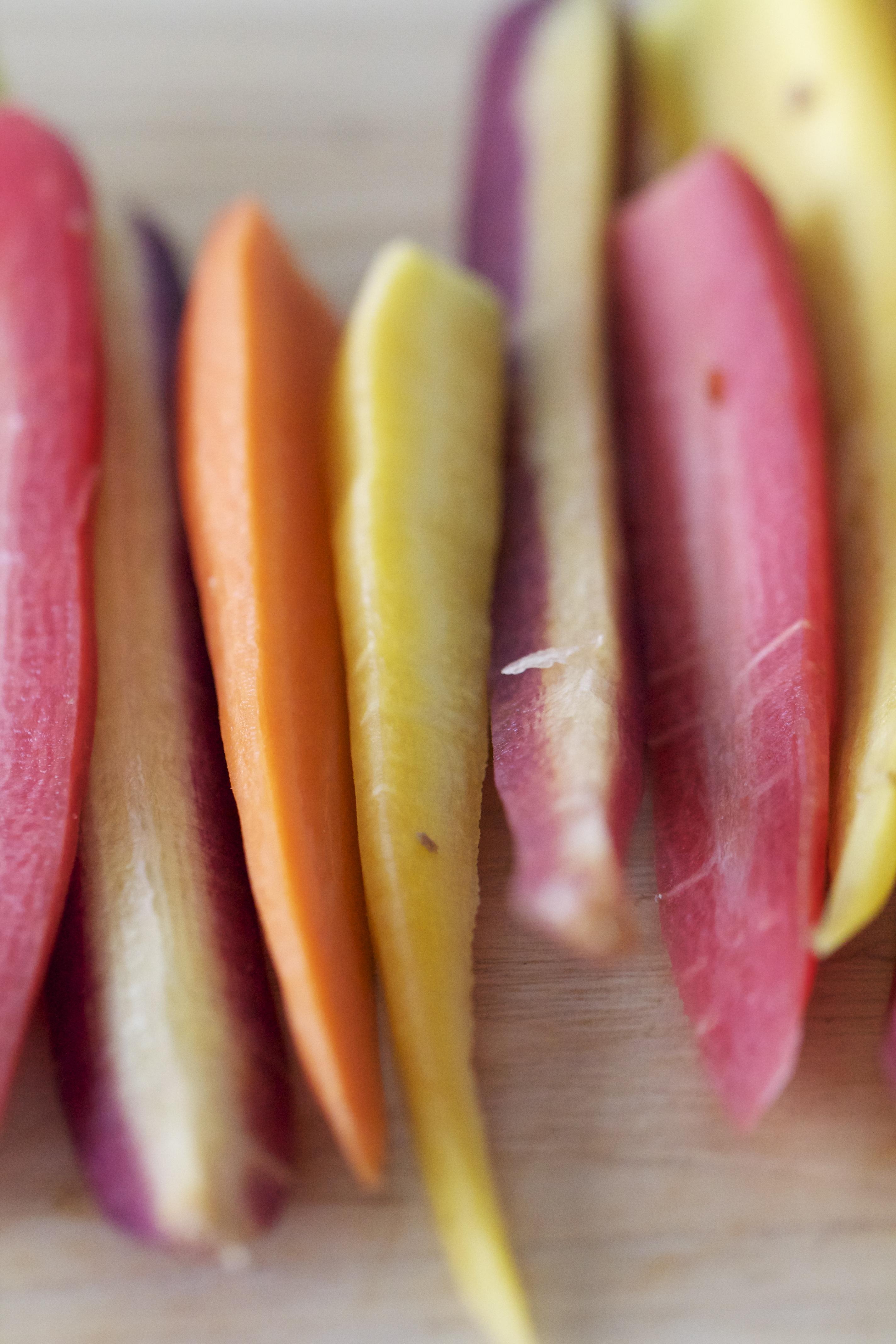 Organic Rainbow Carrots Rainbow Carrots Have Been